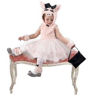 Princess Paradise Little Girls Pink Piggy Went To Market Halloween Costume