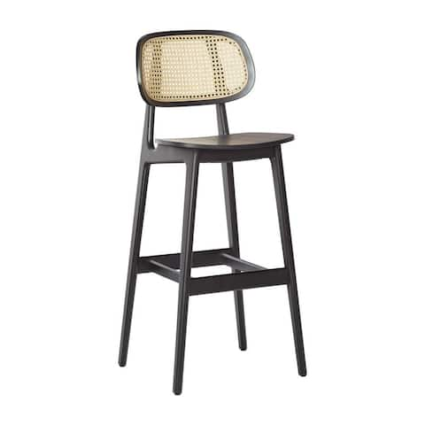 Brazil Counter Stool with Cane Back