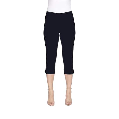 Harve Benard Ladies Slim classic waist bengaline capri pant