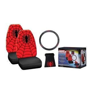 Marvel Spider-Man 4-Piece Car Kit