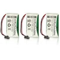 Replacement Battery for Uniden BT-1008 Battery Model (3 Pack)