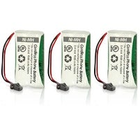 Replacement Uniden BT1008 Battery for D1685-4 / D2998-4 / DECT2088 Phone Models (3 Pack)