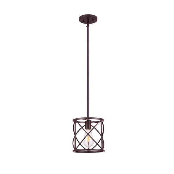 Cedar Hill 1-light Lantern Cylinder Pendant. Opens flyout.