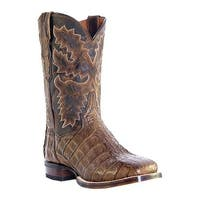 "Dan Post Boots Women's 11"" Apache Caiman DP2852 Bay"