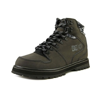 DC Shoes Peary SPT Men  Round Toe Leather Black Snow Boot