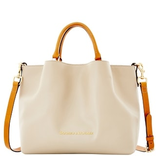 Dooney & Bourke City Large Barlow (Introduced by Dooney & Bourke at $368 in Sep 2015) - Oyster