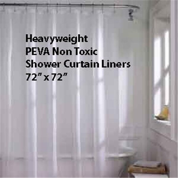 Shop SCEVA 10 26 Heavy Gauge Peva Shower Curtain Liner Standard Size