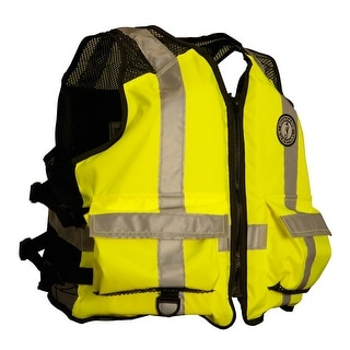 Mustang Survival Mustang High Visibility Industrial Mesh Vest Sm Med Mv1254t3 S M