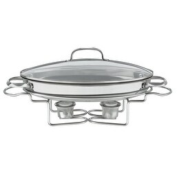 Cuisinart Stainless 13-1/2-Inch Oval Buffet Servers