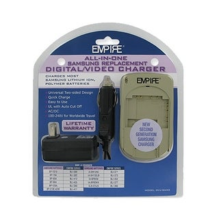 Charger for Samsung DVUSAM2 (Single Pack) Replacement Charger