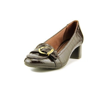 Life Stride Loni W Square Toe Synthetic Heels