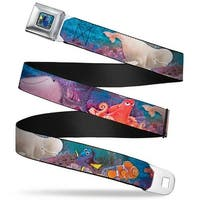 Dory Pose Full Color Dory & 5 Friends Group Pose Under The Sea Webbing Seatbelt Belt