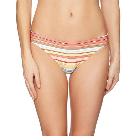Vince Camuto Pink Women's Size Small S Bikini Bottom Striped Swimwear