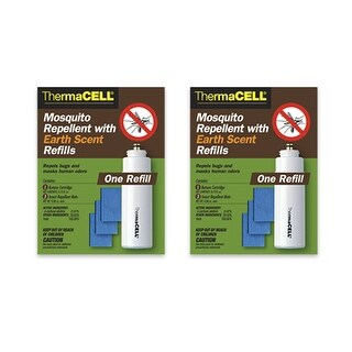 Thermacell Repellent Earth Scent Refill 12 Hours (2-Pack) Scent Refill