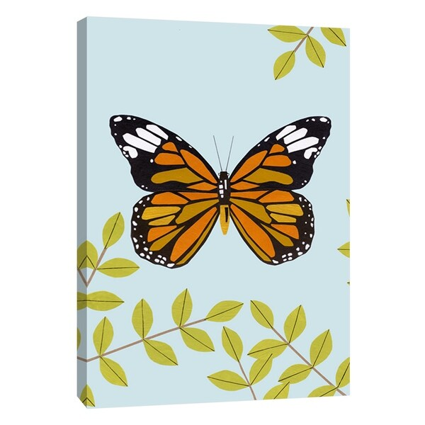 """PTM Images 9-108732 PTM Canvas Collection 10"""" x 8"""" - """"Chameleon"""" Giclee Butterflies Art Print on Canvas"""