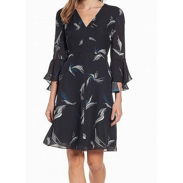 Classiques Entier Women's Printed Sheath Dress Silk