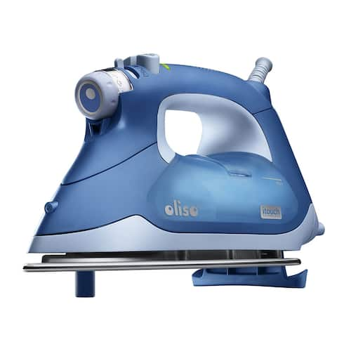 Oliso TG1050 Smart Iron with iTouch Technology, 1600 Watts, Blue