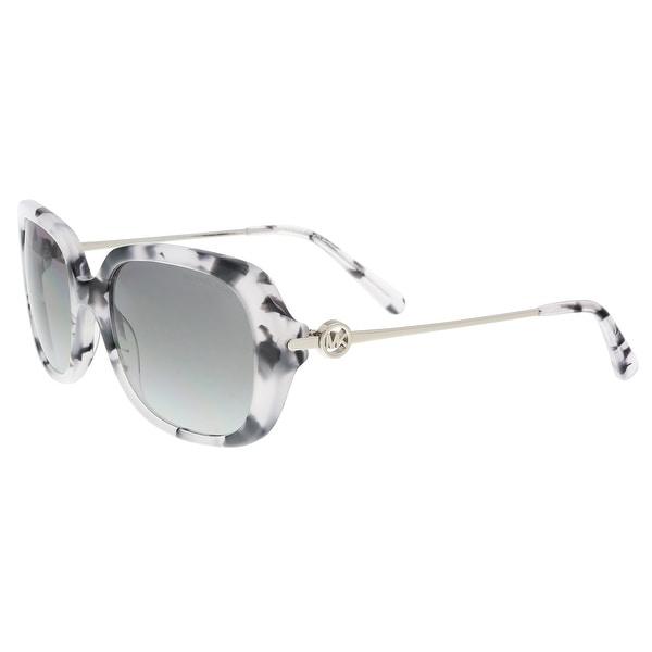 Michael Kors MK2065 335211 Grey Tort Rectangle Sunglasses - 54-18-140