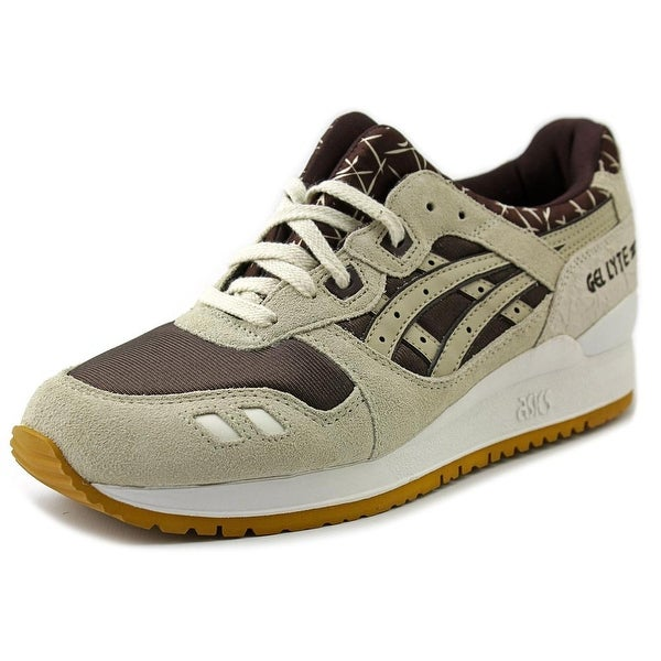 Asics Gel-Lyte III Round Toe Suede Running Shoe