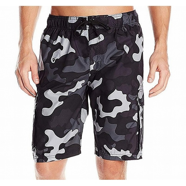238d8246fe Shop Kanu Surf Black Mens Size Large L Camo Board Shorts Swimwear - Free  Shipping On Orders Over $45 - Overstock - 27287200