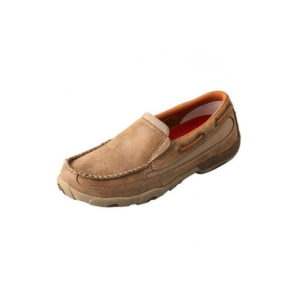 Twisted X Casual Shoes Womens Driving Mocs Slip On Bomber