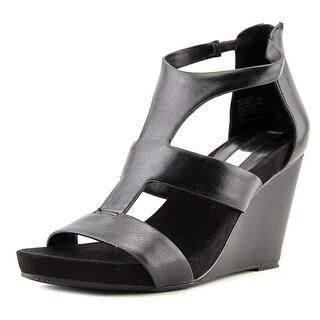 INC International Concepts Lilbeth Women Black Sandals