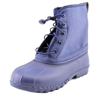 Native Jimmy Child Youth Round Toe Synthetic Blue Rain Boot