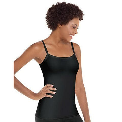 Spanx Spoil Me Cotton Tummy Slimming Camisole Adjustable Straps 2104 QVC A232681