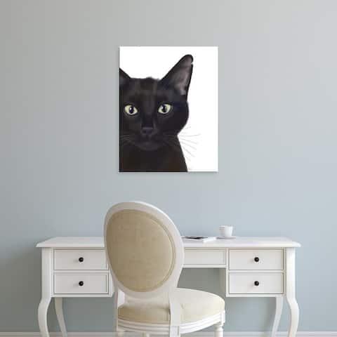 Easy Art Prints Fab Funky's 'Cat, Portrait of Gus' Premium Canvas Art