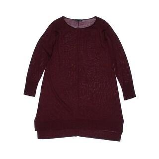Eileen Fisher Womens Pullover Sweater Merino Wool Scoop Neck - s