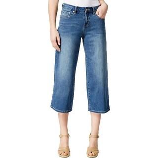 Jag Jeans Womens Jeans Wide Leg Light Wash - 14