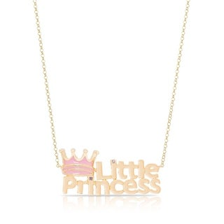 """Lily Nily Girl's """"Little Princess"""" Necklace"""