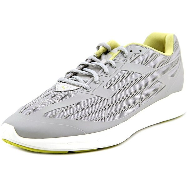 Puma Ignite Select Kurim Men Round Toe Canvas Gray Sneakers