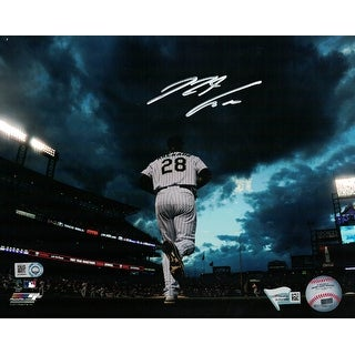 Nolan Arenado Autographed Colorado Rockies 8x10 Photo Sunset FAN