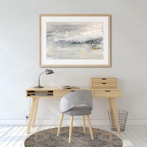 SERAPI BUTTER Office Mat By Kavka Designs