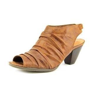 Baretraps Sinclair Women  Open Toe Canvas Brown Sandals