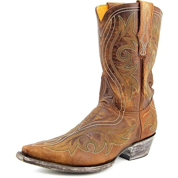 Old Gringo Marcelina Stitch 10 Men Brass Western Boots