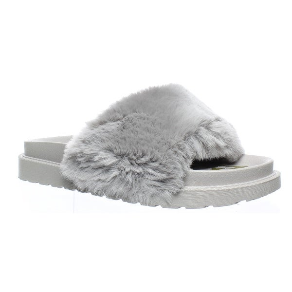 523fbe8e00ee Shop Sam Edelman Womens Blaire Grey Slides Size 8 - On Sale - Free ...