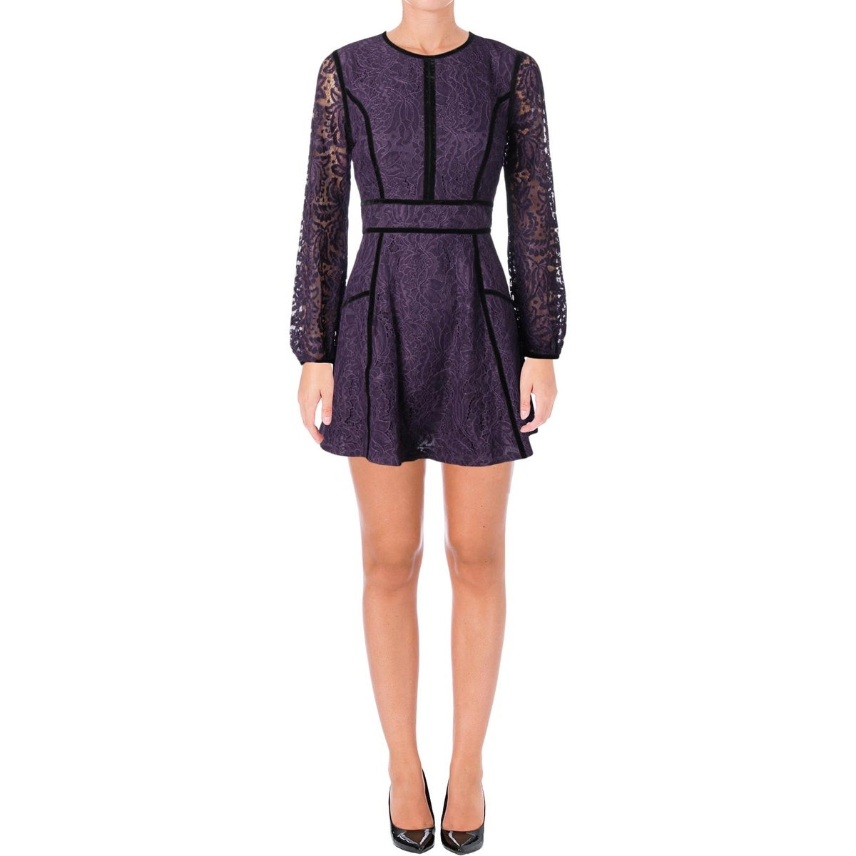 Shop Juicy Couture Black Label Womens Leafy Cocktail Dress Lace Mini - Free  Shipping Today - Overstock - 23476403 c72d708ed