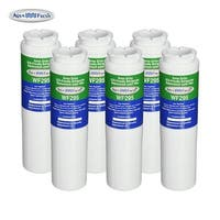 Replacement Water Filter For Whirlpool Filter 4 Refrigerator Water Filter by Aqua Fresh (6 Pack)