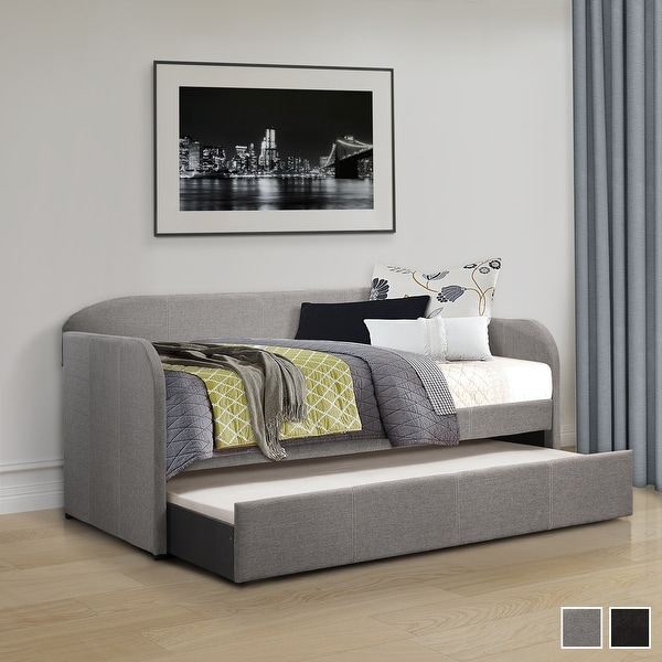 Tiana Upholstered Daybed with Trundle. Opens flyout.