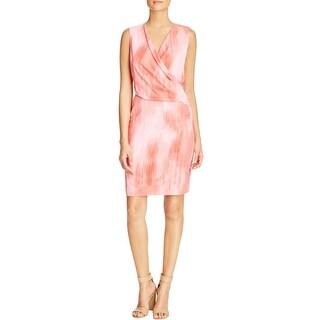 T Tahari Womens Seraphina Cocktail Dress Sleeveless Knee-Length
