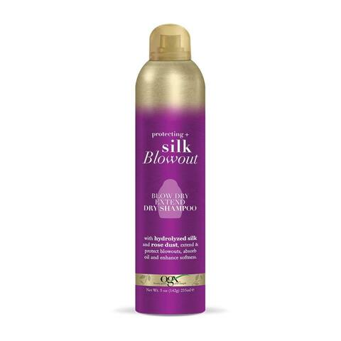 OGX Protecting + Silk Blowout Blow Dry Extend Dry Shampoo 5 Ounce - Purple - 5 oz