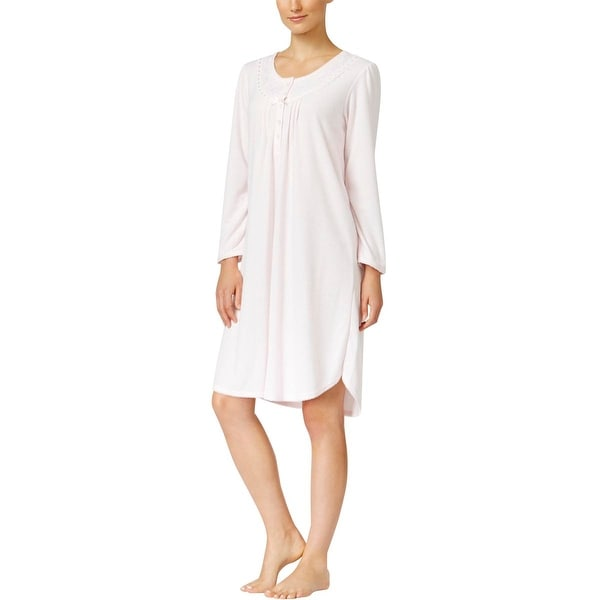64c7734332705 Shop Miss Elaine Womens One-Piece Pajamas Knit Night Gown - Free Shipping On  Orders Over  45 - Overstock - 18707750