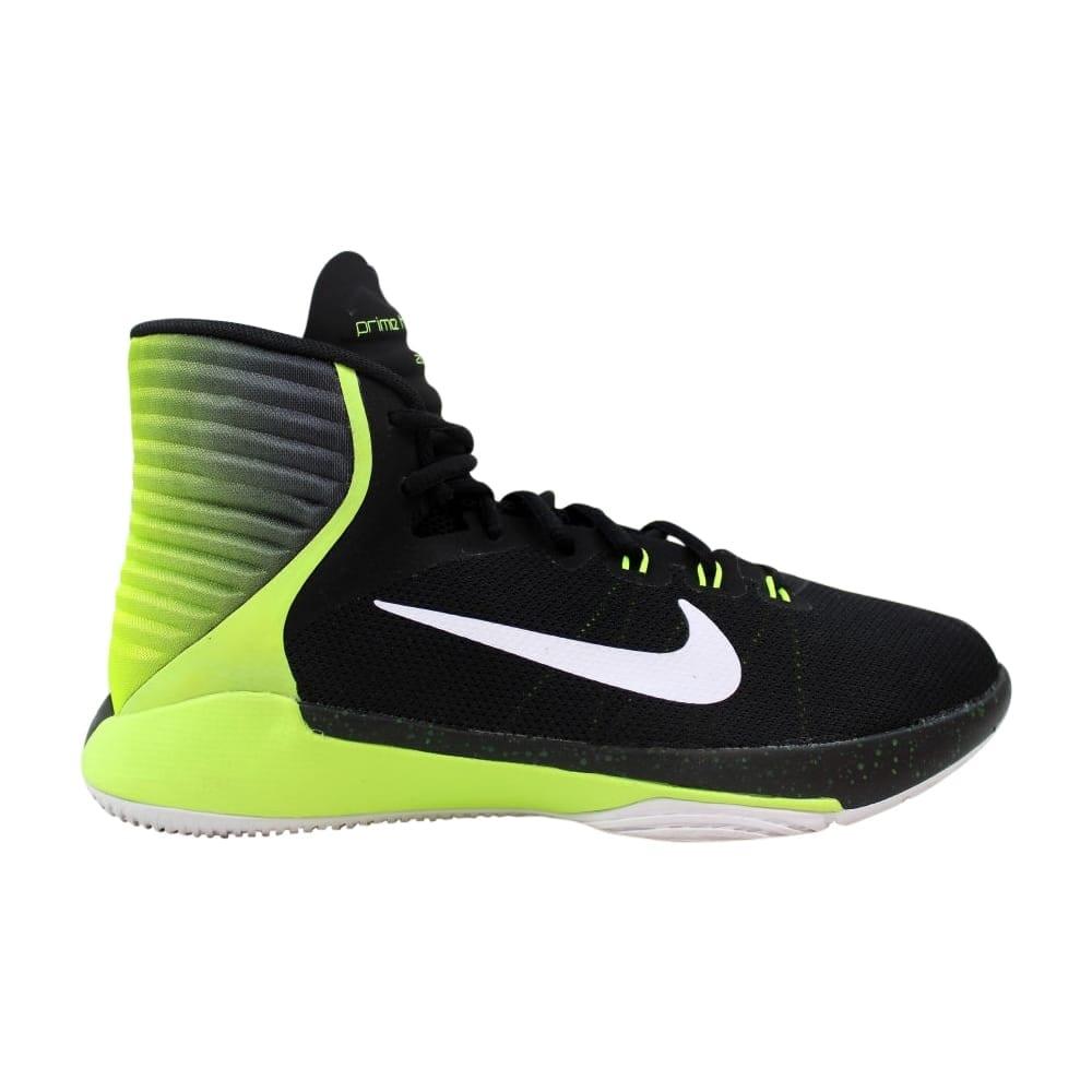 san francisco 921cb 272c1 Nike Grade-School Prime Hype DF 2016 Black/White-Volt 845096-003
