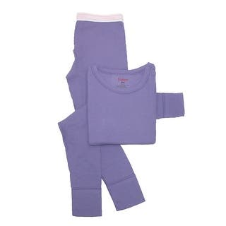 Hanes Girls' Thermal Underwear Set (Option: Small)|https://ak1.ostkcdn.com/images/products/is/images/direct/e7636fcfda6f4037fcadd6e7d545b2d7921af3b0/Hanes-Girls%27-Thermal-Underwear-Set.jpg?impolicy=medium