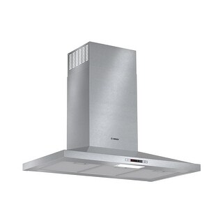Bosch HCP36E5 300 CFM 36 Inch Wide Wall Mounted Range Hood with Audible Feedback - STAINLESS STEEL