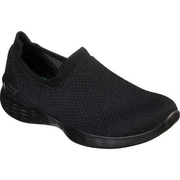 Skechers Women's Skechers YOU Define Allegra Slip On Sneaker BlackBlack Walking Shoes from shoes | ShapeShop