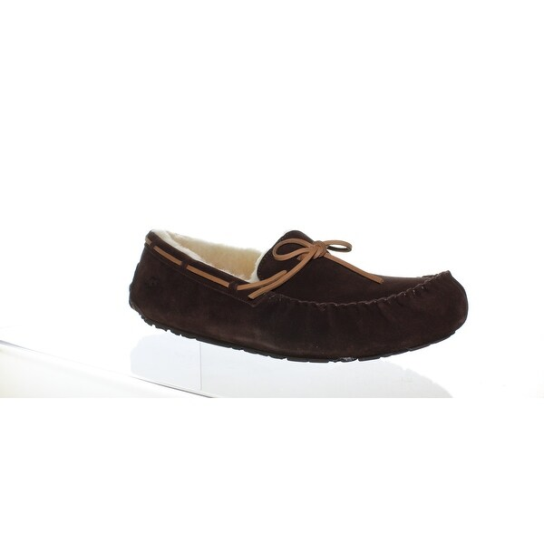 f21b23662584 Shop UGG Mens Olsen Espresso Moccasin Slippers Size 17 - On Sale ...