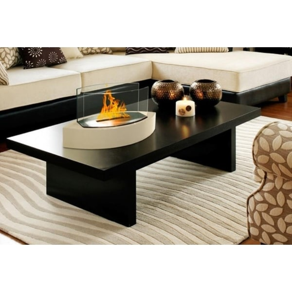Anywhere Fireplaces 90203 Lexington Beige Tabletop Fireplace